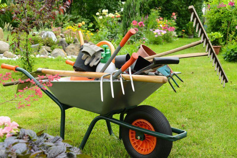ابزار کشاورزی - دستگاه _ شخم - زمین - تراکتور -